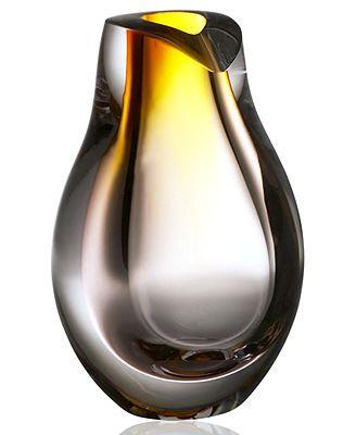 Kosta Boda Gifts Opus Amber Vase 8 Ffe Images Pinterest
