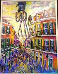 """Commission a Brandon Delles - Dali Quarter painting <3 Do 30"""" tall by 60"""" widem (landscape) to fit over fireplace"""