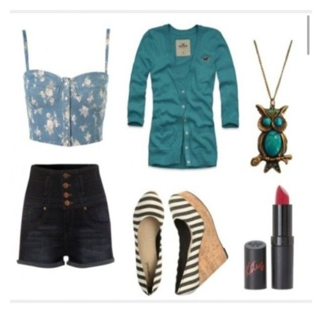 """""""High-waisted shorts"""" by shante212 on Polyvore"""