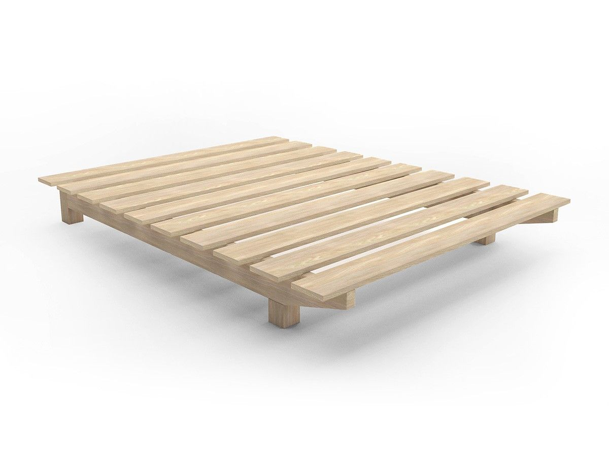 European cusom floating timber bed base en 2019 bed - Somier japones ...