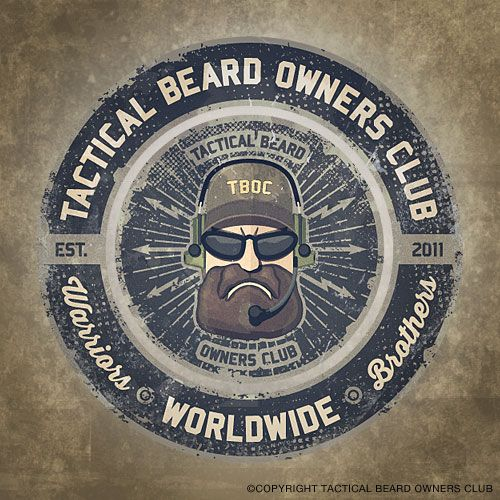 Worldwide Largest Network Of Tactical Beard Owners Tactical Beard Tactical Beard
