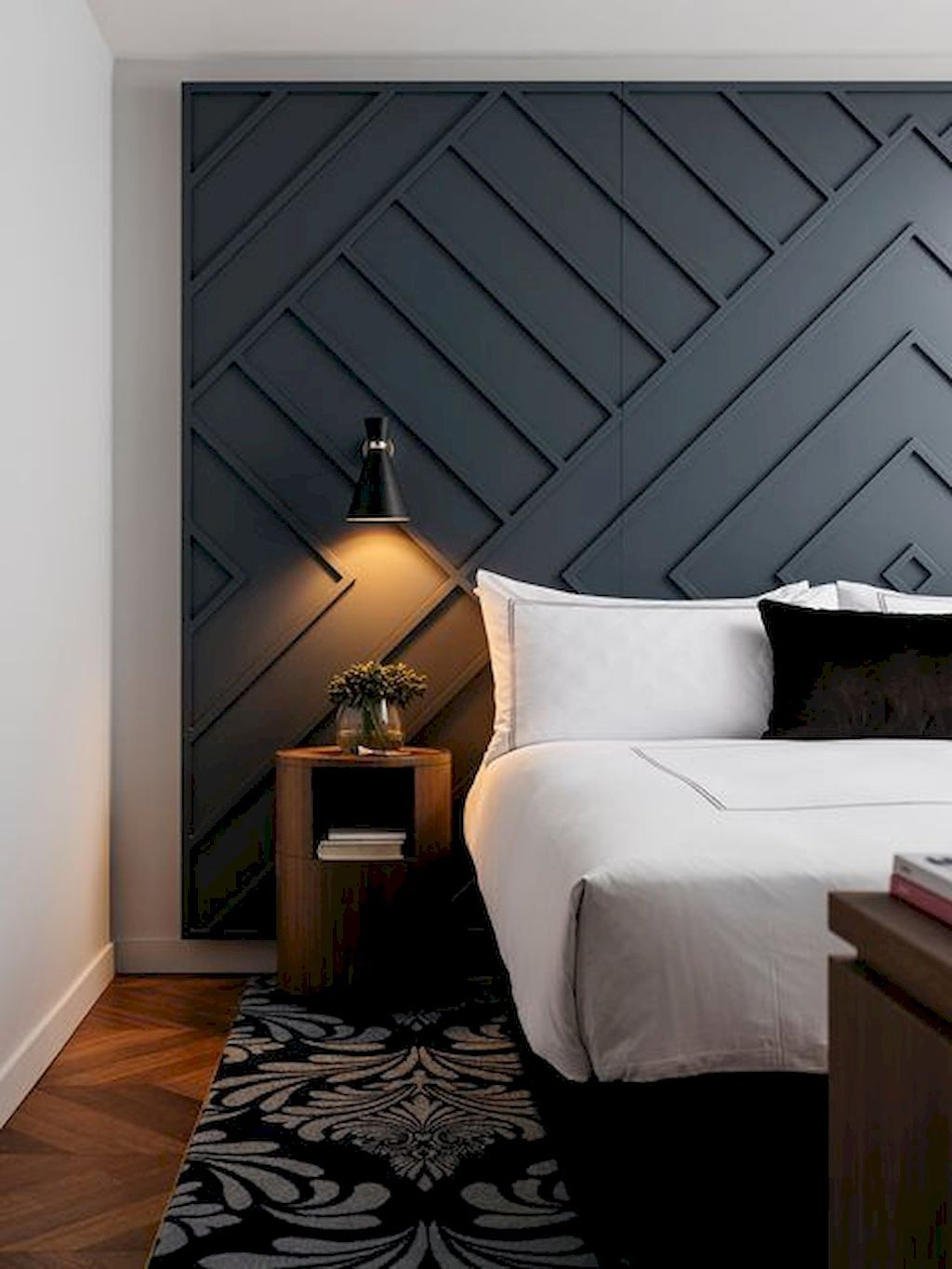 Perfect 121 Simple Cool Creative Wall Decorating Ideas That Are Easy To Apply In Your Home Https Homemi Bedroom Interior Home Decor Bedroom Modern Bedroom