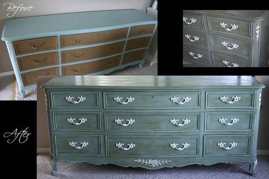 Comment peindre un meuble en bois le guide pratique rebuilt furniture - Peindre meuble bombe ...
