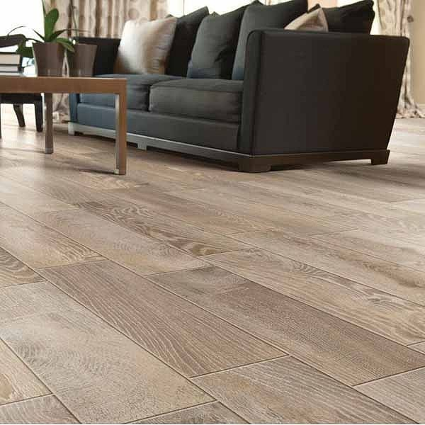 6 X 24 Tumbleweed Porcelain Tile Lowes 155467 Aly Looks Like Real Wood If It Does Would Be Great For Wet Areas The Kitchen Or