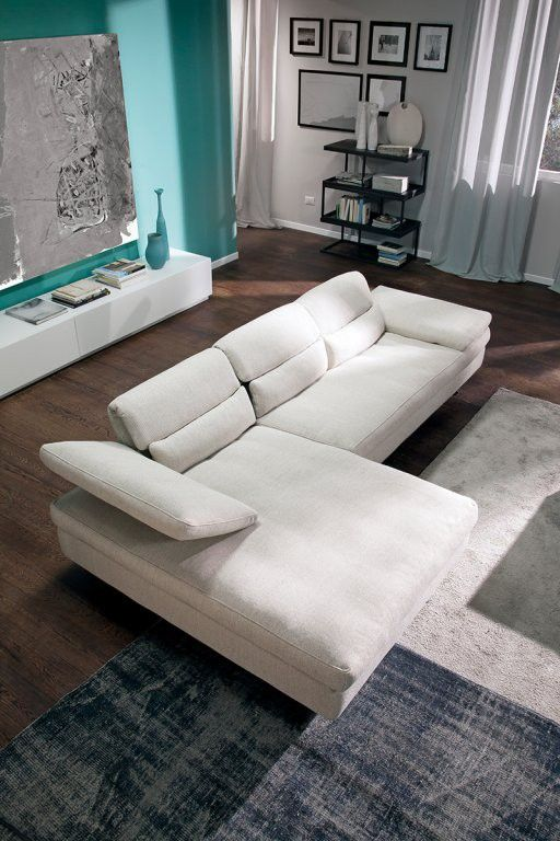 dora sectional by chateau d'ax, italy. shown in fabric.visit ... - Soggiorno Living Chateau Dax