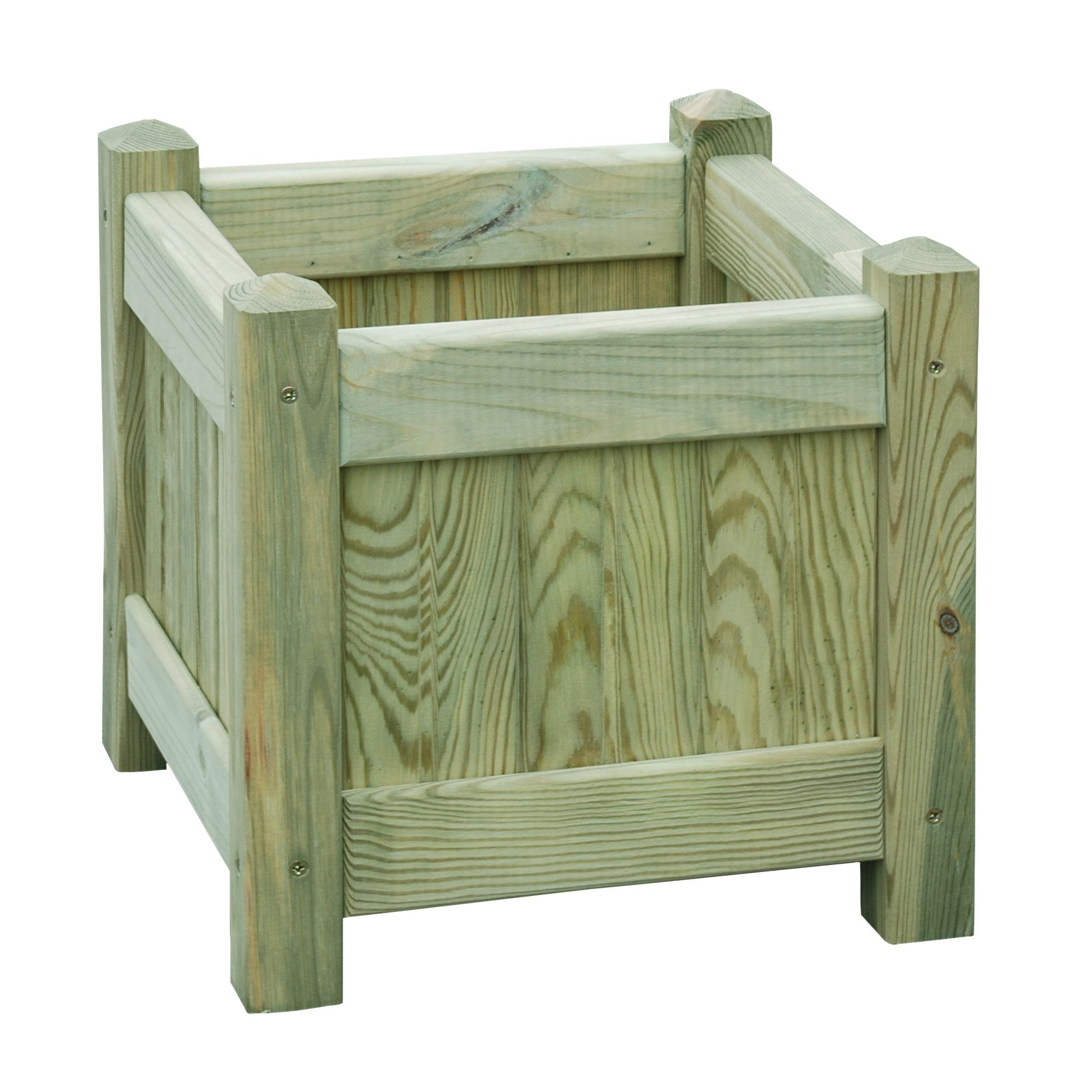 Square Wooden Planter   Bu0026Q For All Your Home And Garden Supplies And  Advice On All The Latest DIY Trends
