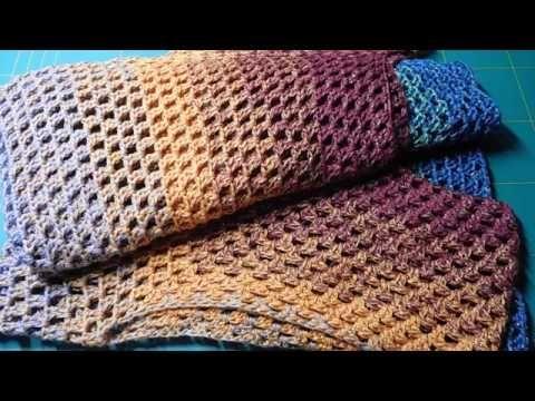 Häkeln Schlauch Schal selber machen | Schönen Schal schnell häkeln ...