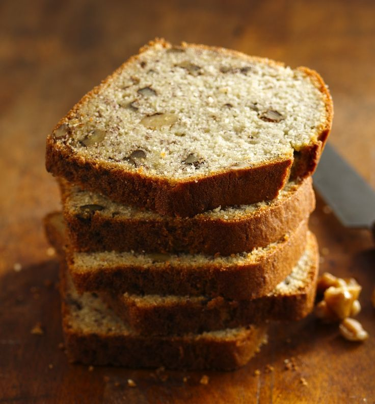 """The five-star rating on this banana bread speaks for itself—it's so good, you won't believe it's gluten-free! And with only five ingredients, it's unbelievably easy to make, too. Betty member Lorivzcs9d says """"this is the best gluten-free banana bread recipe I have ever found."""""""