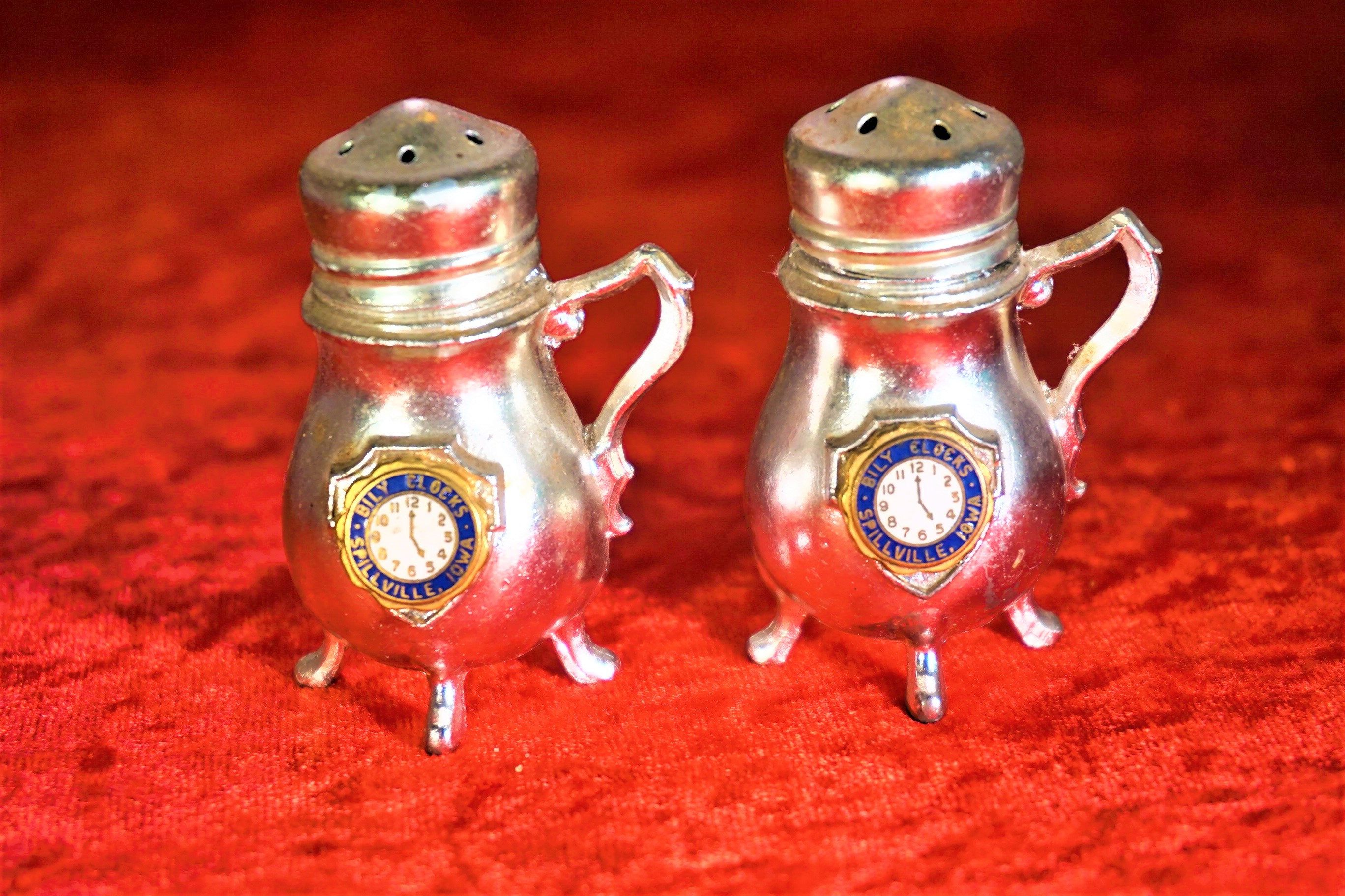 Vintage Unique Salt And Pepper Shakers Collectible Gift For Her Home