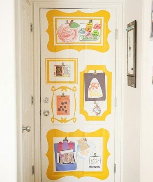 kinderbilder aufh ngen t r kinderzimmer pinterest kinderzimmer kinderbilder und ideen. Black Bedroom Furniture Sets. Home Design Ideas