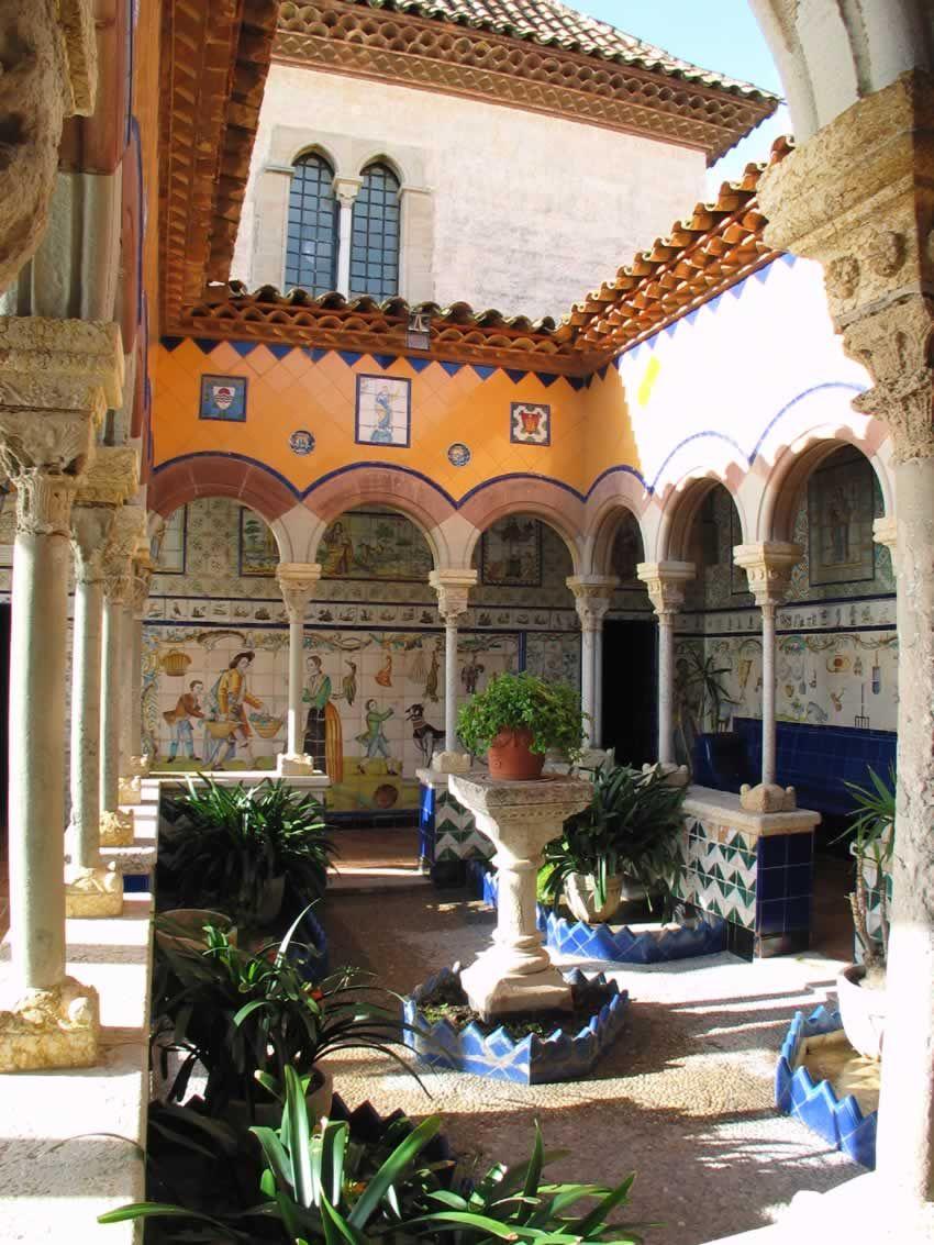 Palau maricel sitges el garraf catalunya beloved for Jardin islamico