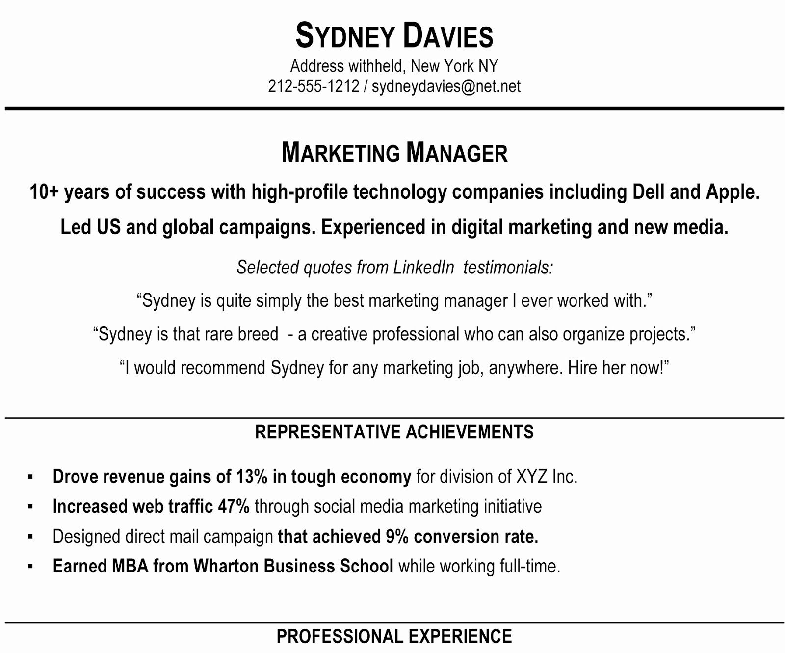Marketing Assistant Resume Example Assistant Marketing Manager Resume Examples 2019 Marketing Assista Resume Summary Examples Resume Profile Marketing Resume