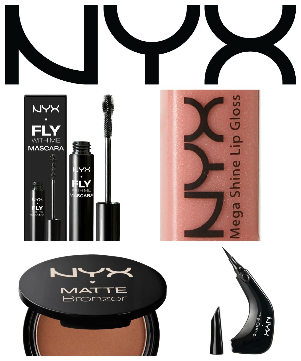 Runner up makeup kit courtesy of Nyx Cosmetics!