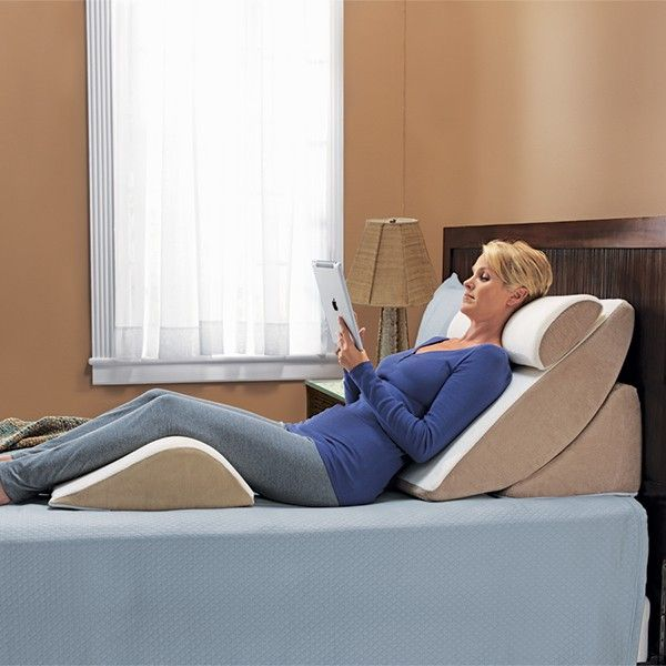 ergonomic chair knee rest covers from target purefit adjustable wedge system | pinterest pillow, stress free and pain relief