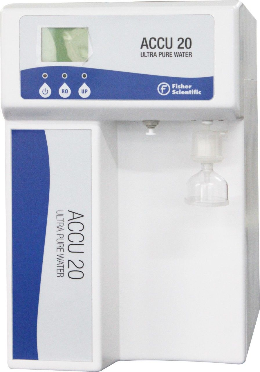fisher-accu20 -Fisherbrand Water Purification Systems available from