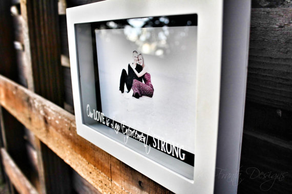 Our Love is Law Enforcement Strong Shadowbox by KFrantaDesigns | Law ...