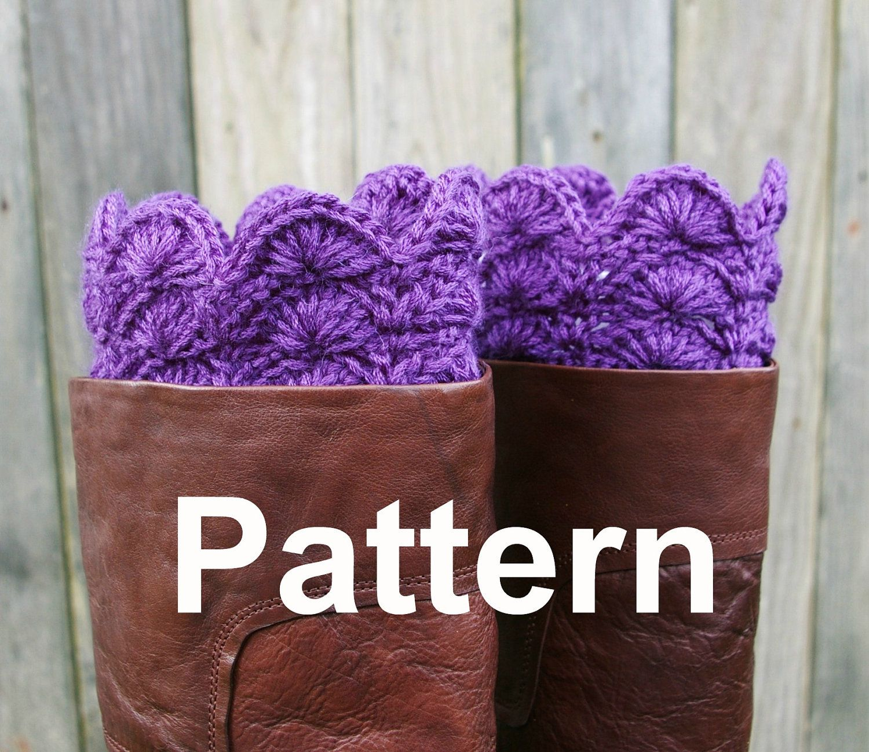 Crochet pattern boot cuffs boot toppers instant download boot crochet pattern boot cuffs boot toppers instant download bankloansurffo Images