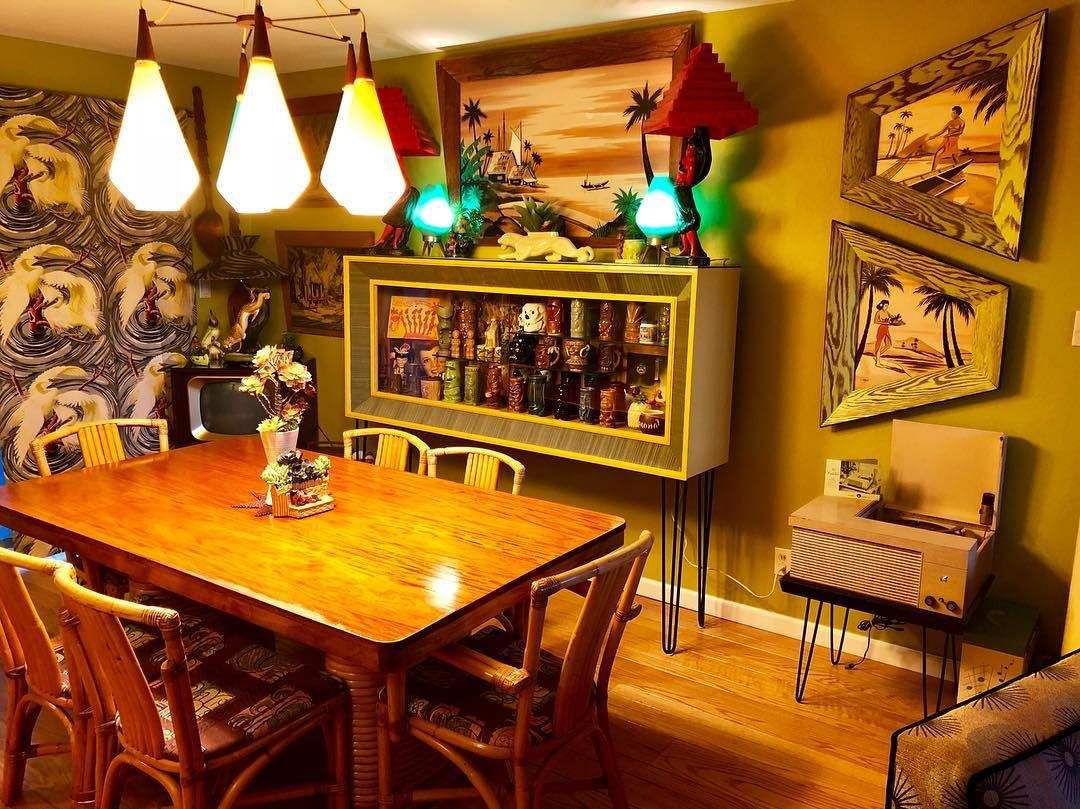 Hepcatshaven Com Tiki Dining Room Tiki Decor In 2019