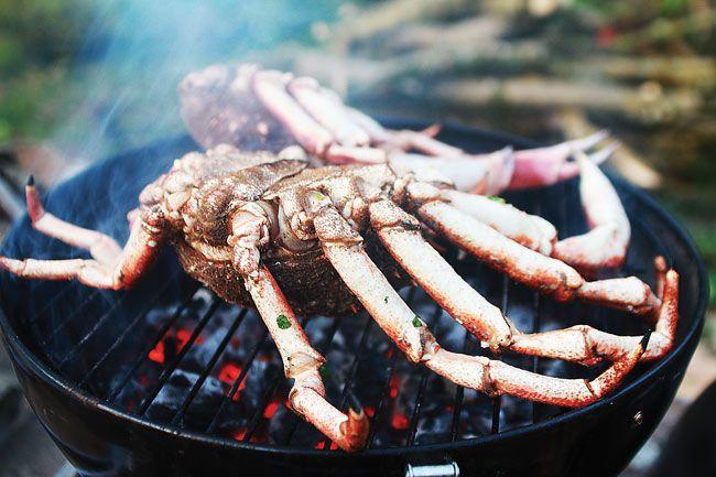 Bbq Recipes Barbecue Spider Crab Crab Recipes Bbq Recipes Barbecue Recipes