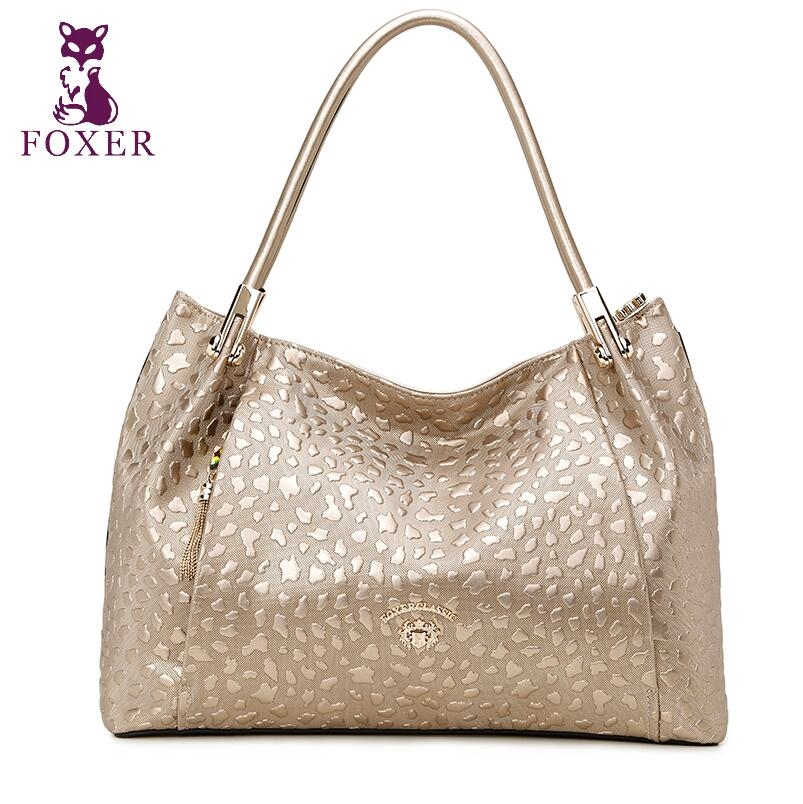 86.72$  Buy here - http://alikj0.shopchina.info/go.php?t=32715776841 - FOXER high-end luxury fashion leather shoulder bag diagonal package 2016 new brand of 100% high quality of well-known women 86.72$ #magazineonlinewebsite