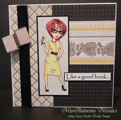 MissAlaineous' Mosaics using Sassy Studio Designs Image and made up quote.
