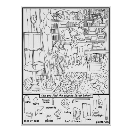 Find+Hidden+Objects+Puzzles+Printable   hidden objects   Pinterest