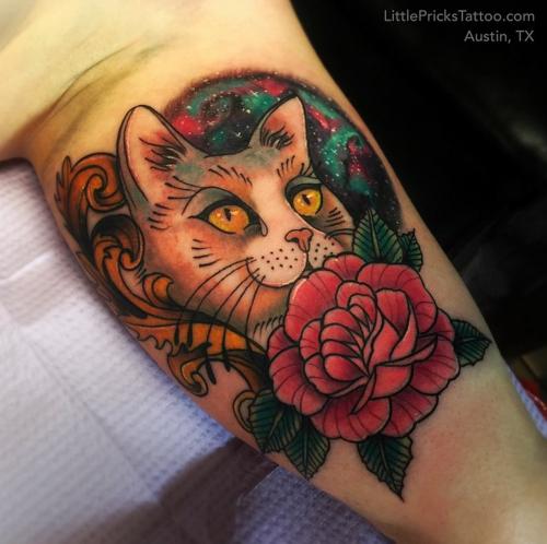 Pin By Maddie Williams On Tattoos Cat Tattoo Tattoos