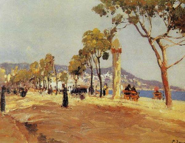 Fausto Zonaro - Promenade Des Anglais