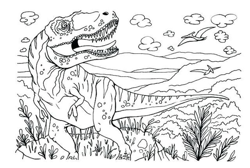 Free Printable Coloring Pages Jurassic World Copy After The Jurassic World Theme Park Was Closed Three Years Ago Owen Grady Lived A Normal