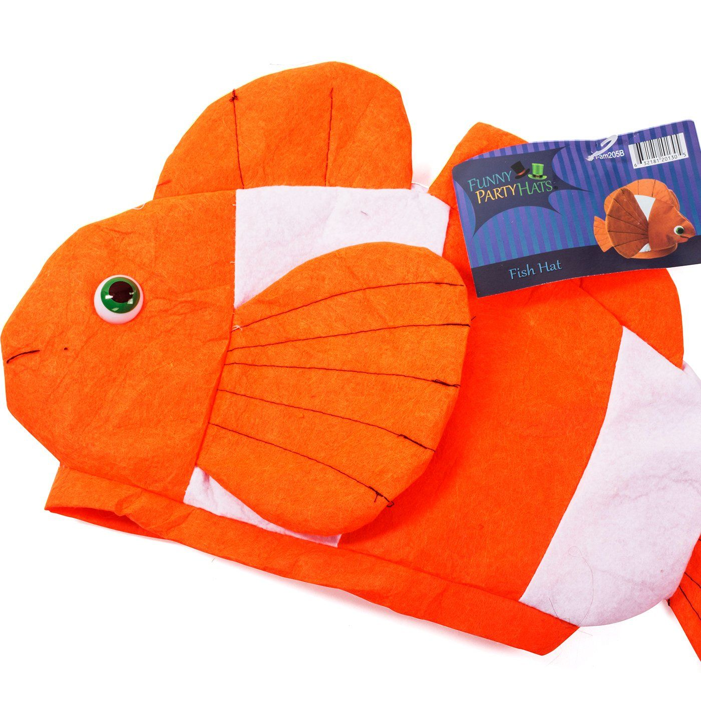 Ocean Animal Hats Sea Animal Hats Clown Fish Hat Fish Hat Costume Hats by Funny Party Hats