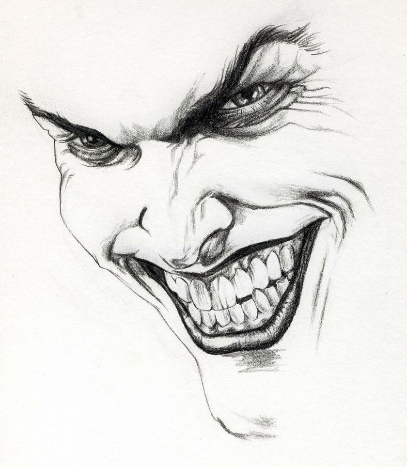 The Joker Boceto Joker Arte De Chisisto Como Dibujar Cosas
