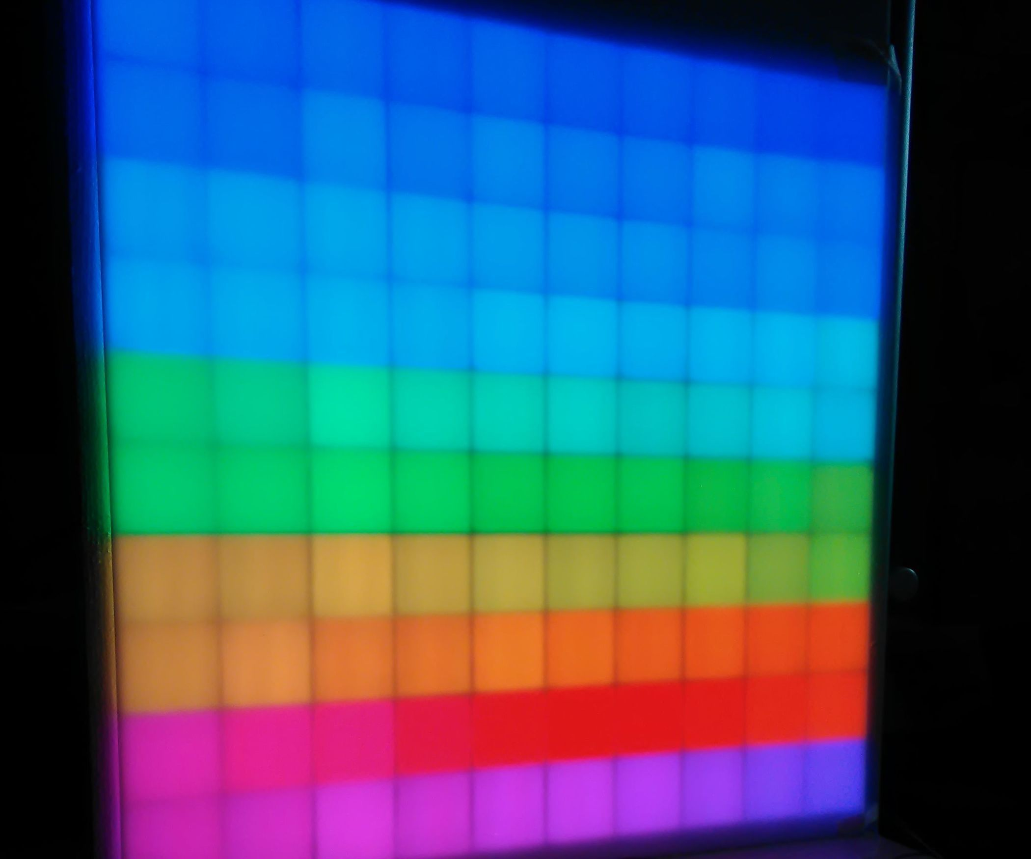 Interactive Rgb Led Matrix Controlled By Twitch Chat Led Matrix Rgb Led Matrix