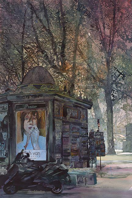 John Salminen, 1945 | Abstract Cityscape painter | Tutt'Art@ | Pittura * Scultura * Poesia * Musica |