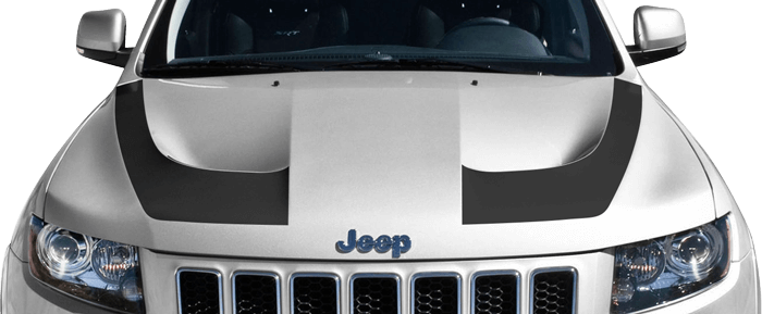 Srt Hood Hockey Stick Stripes For The 2014 Present Jeep Grand