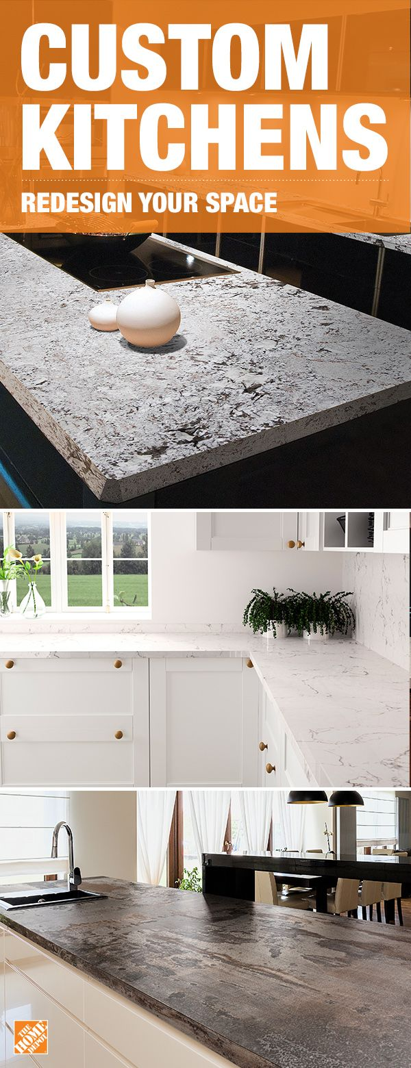 High End Design Meets Durability With Granite Quartz And Natural