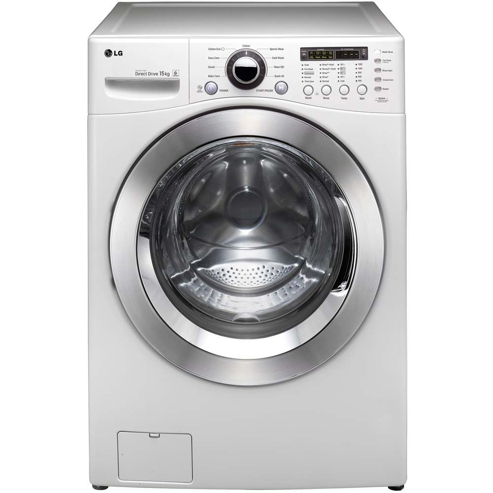 Lg 15kg 1200rpm Truesteam Washing Machine F1255fd A Rating Costco Uk