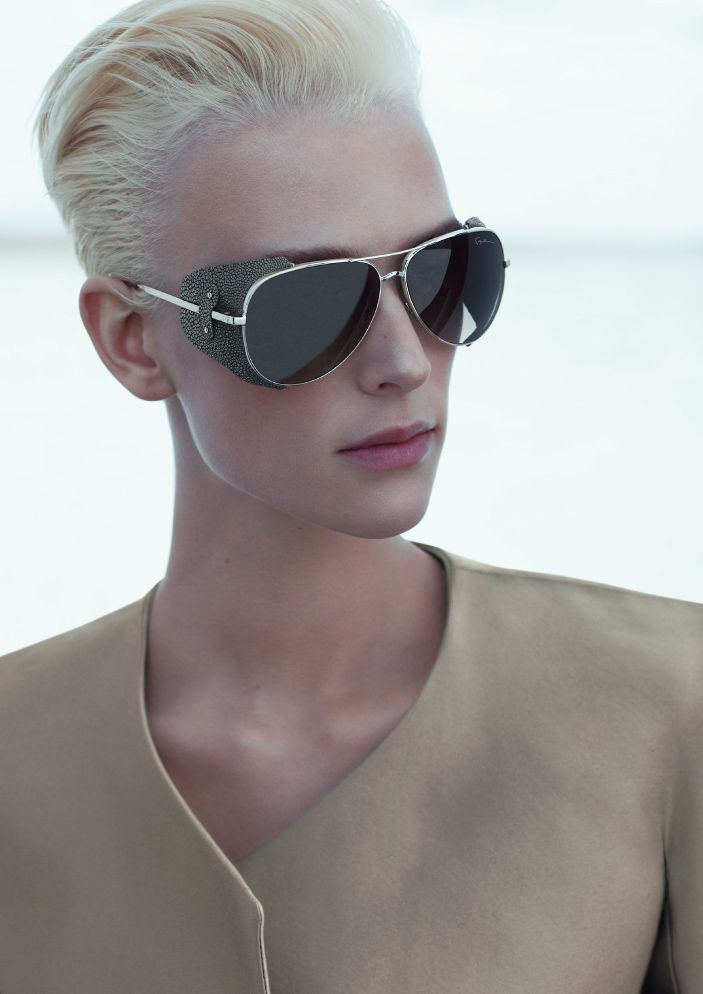 3ce3596e78ca Armani - aviator sunglasses with leather side shields <3<3<3 ...