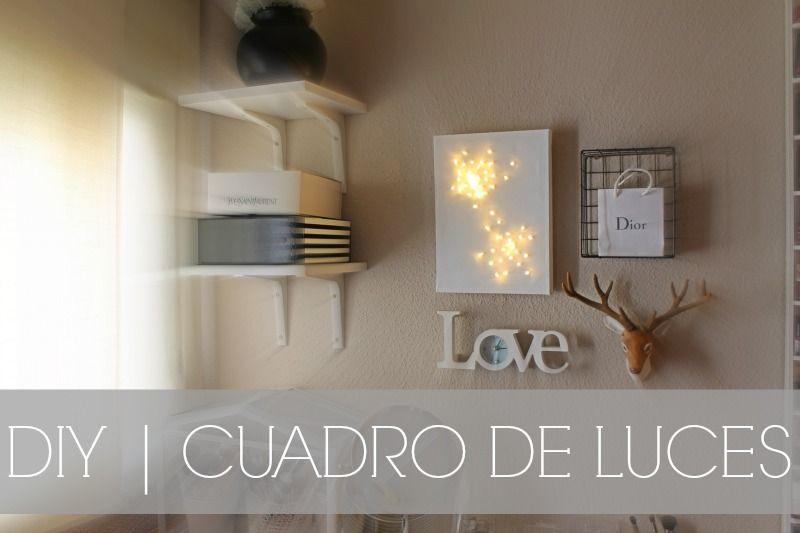 Beauty Blog Diy Cuadro De Luces Led Diy Luz Led Cuadros