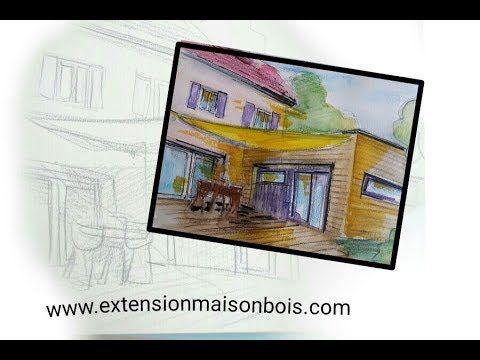 Agrandir sa maison avec lu0027ossature bois Travaux, extension