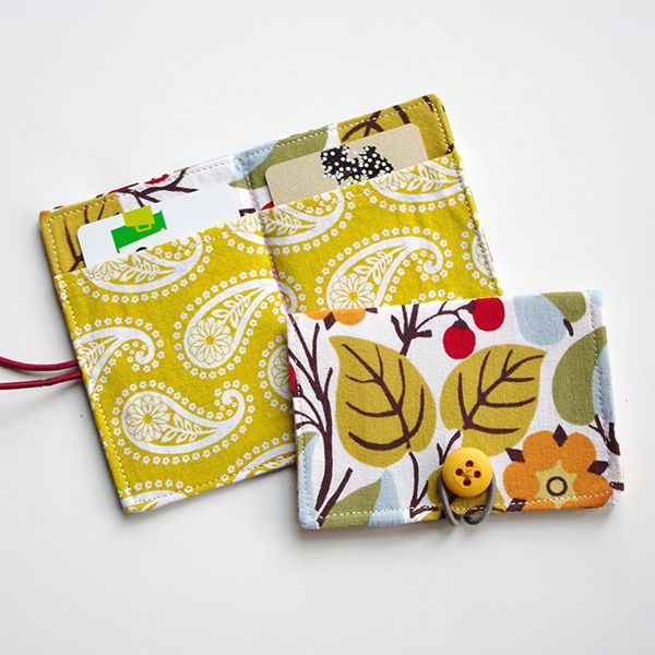 Credit Card Wallet Sewing Pattern (FREE) | Sewing | Pinterest
