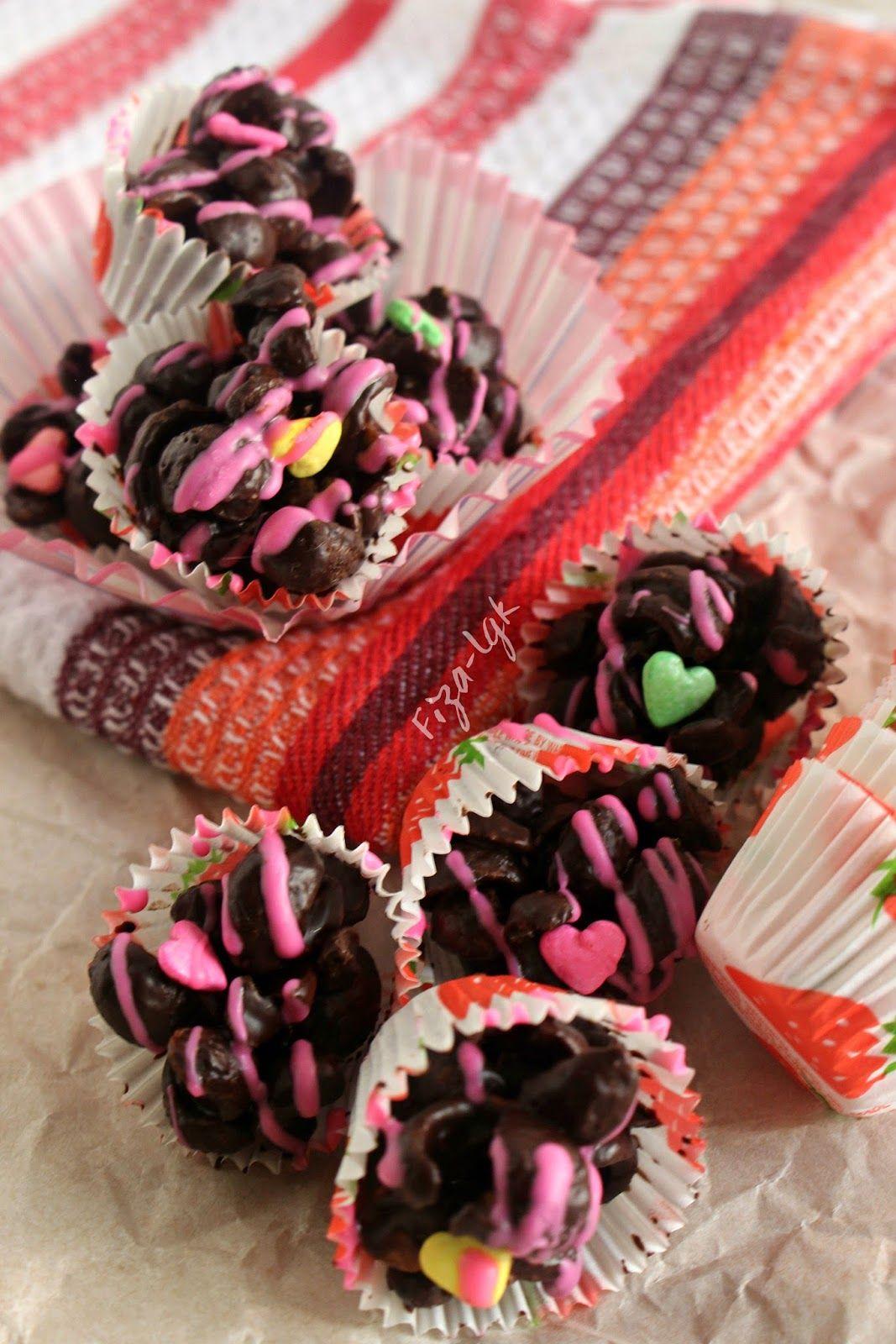 Coco Crunch Coklat Bergajus Fiza S Cooking Coklat Resep Makanan Makanan