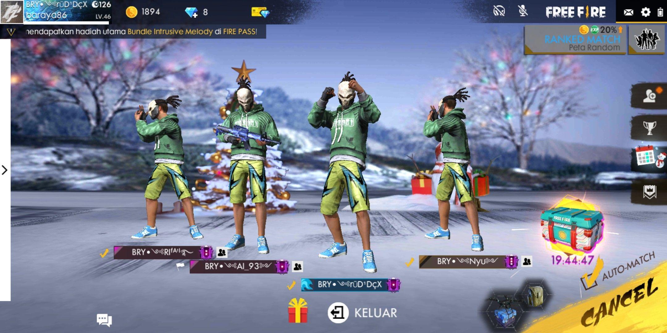 Bry Squad Freefireindonesia Freefire Booyah Pubg Garena