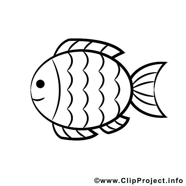 Fisch Malvorlage  Ausmalbild  Pinterest  Ausmalbilder gratis