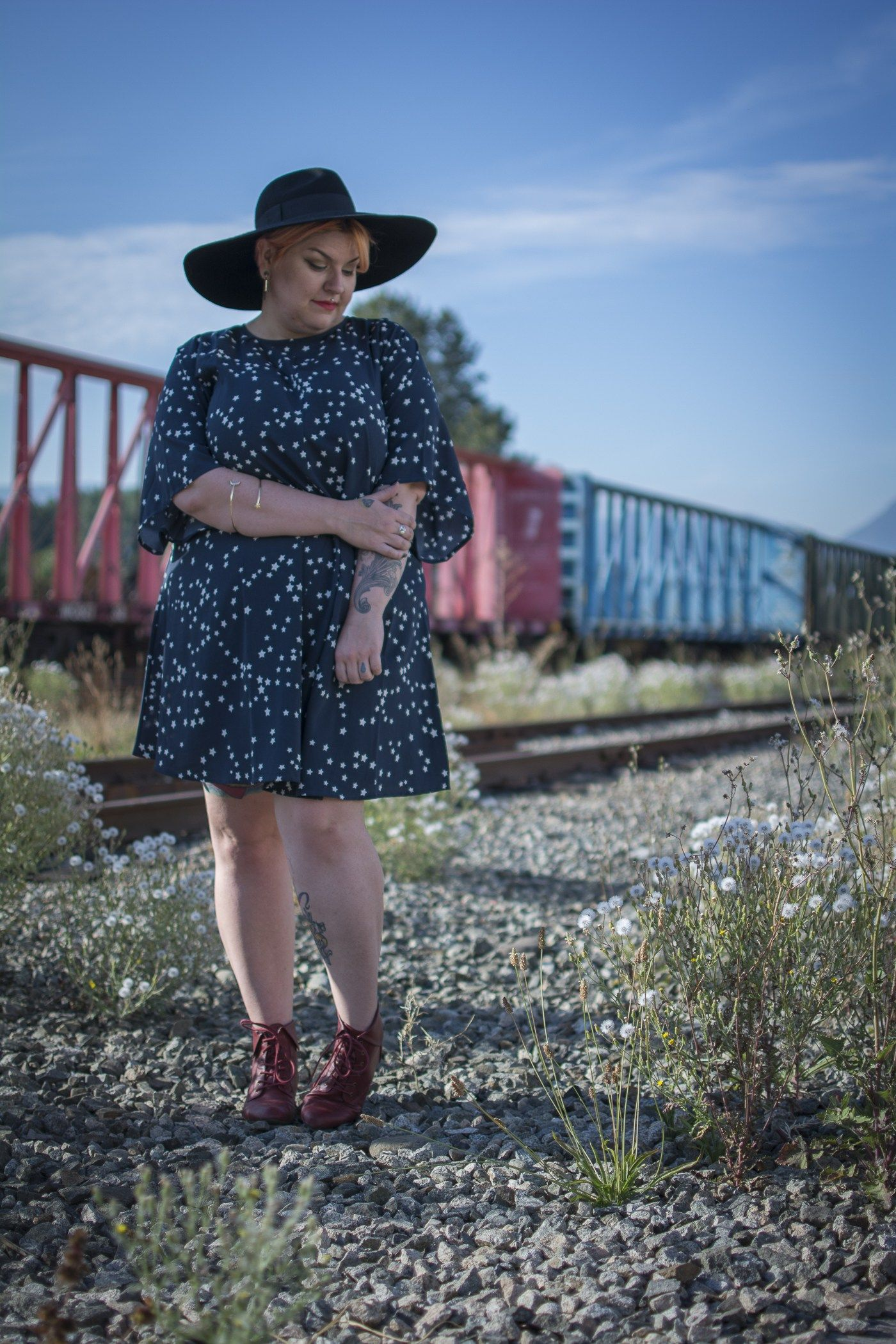 Photo of Margot Meanie | Canadian plus size blogger