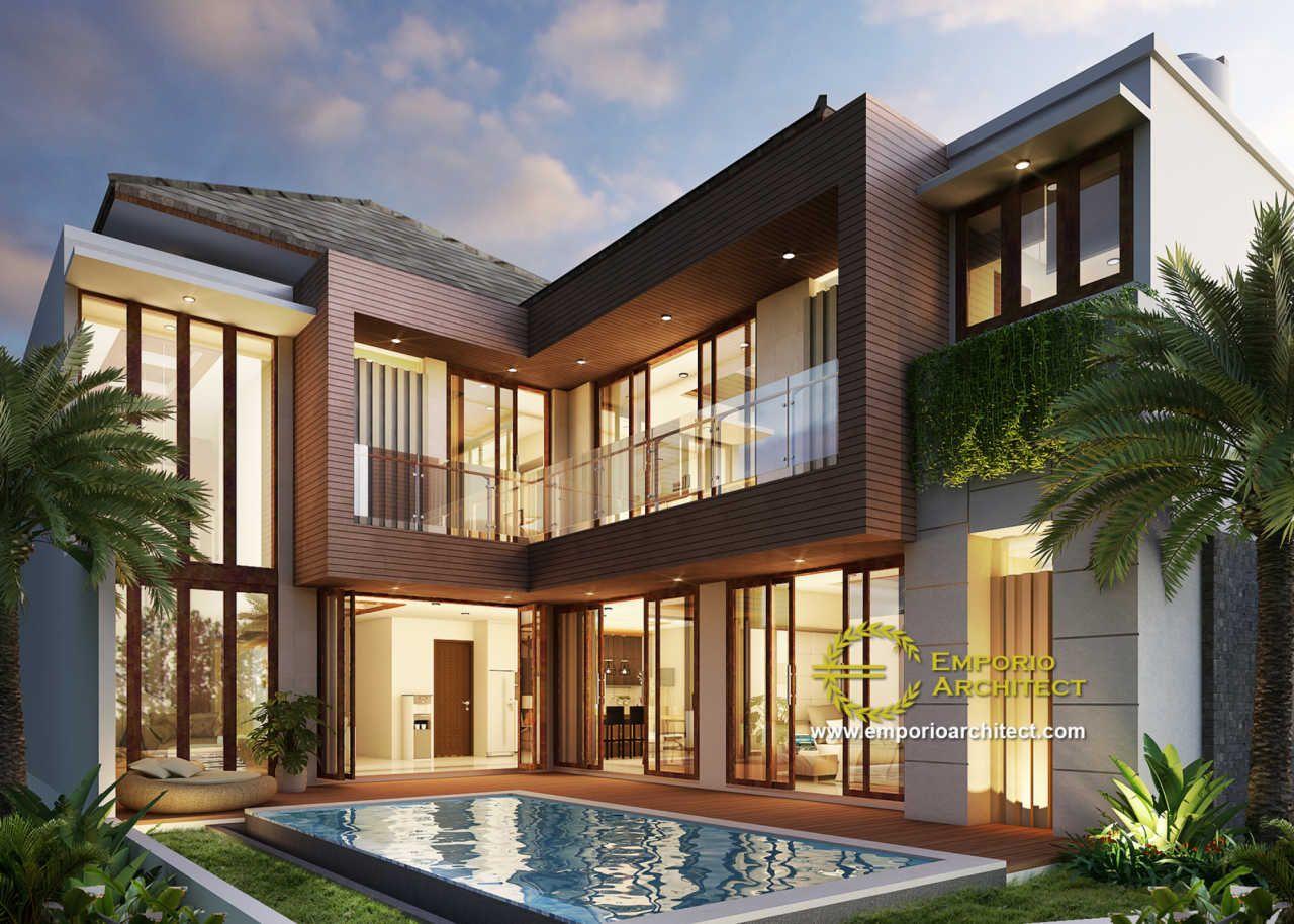 Mrs Ridha Private House Design Jakarta Eksterior Rumah Modern Desain Rumah Eksterior Rumah Arsitektur