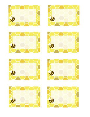 Everyday Art: Honeybee Printables