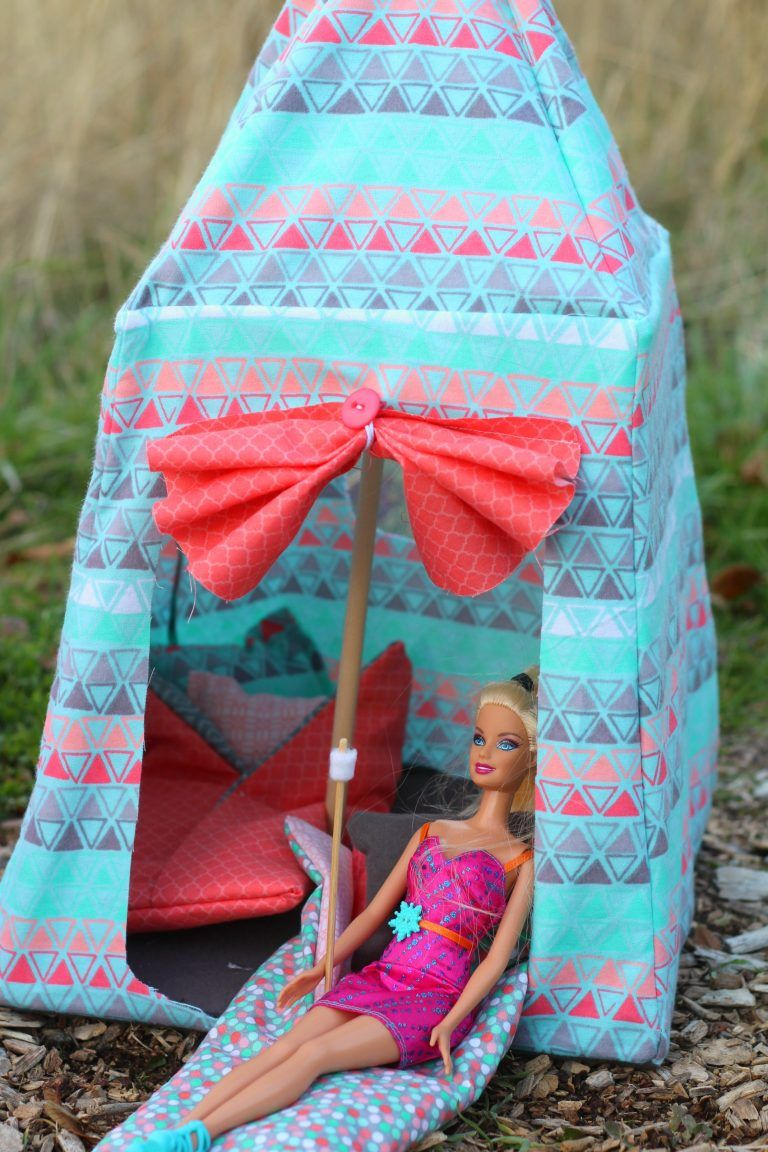 ordinary Barbie Tents Part - 10: barbie-tent-pattern-to-buy-super-cute
