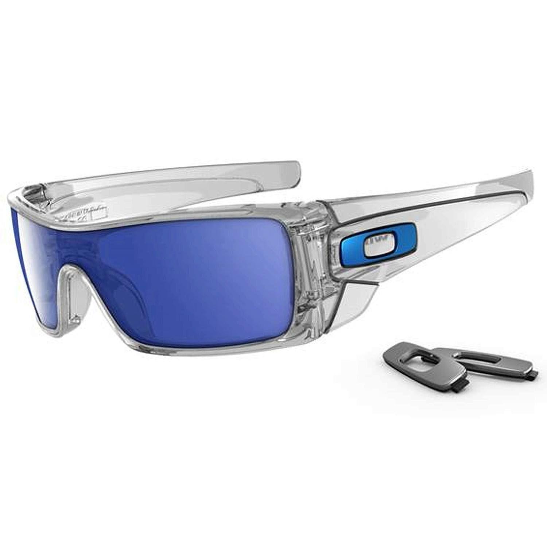 7486e9580d Oakley Batwolf Sunglasses, Clear/Ice Iridium, One Size Lentes Deportivos, Gafas  De