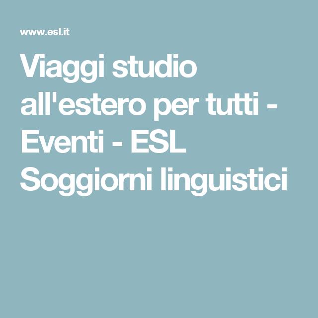 Viaggi studio all\'estero per tutti - Catalogo online - ESL Soggiorni ...