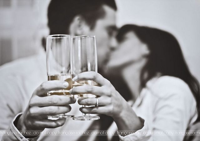 copas y beso